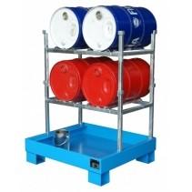 Fassregal für 2-4 Fässer 60 liter