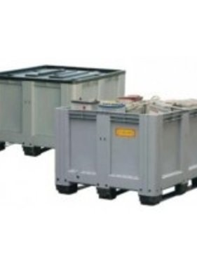 Altbatterie-box - Inhalt 610l