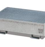 verzinkte Auffangwannen aus Stahl