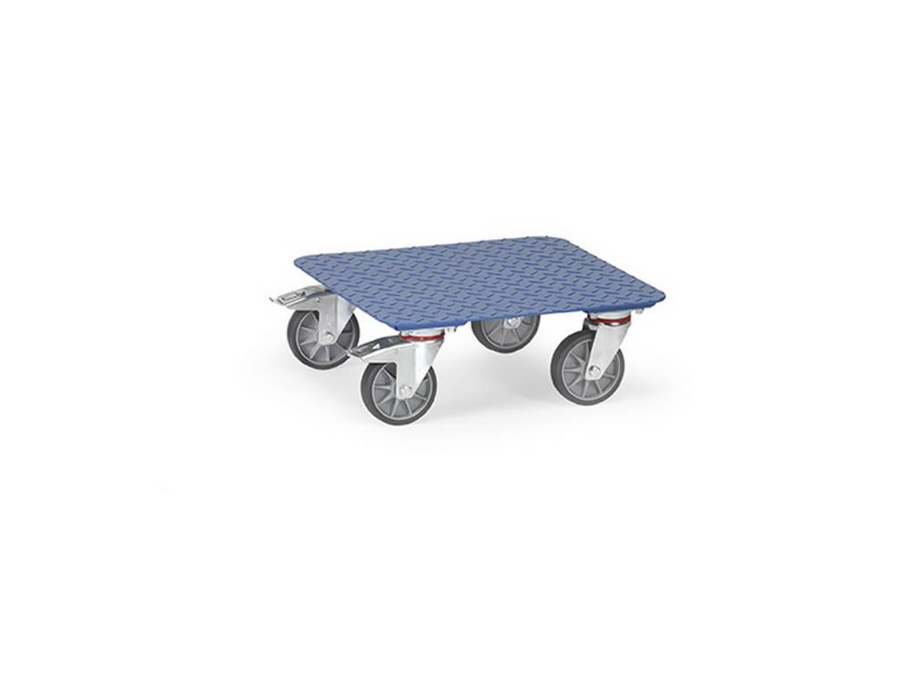 Kistenroller aus Stahl mit einer Tragkraft von 400 kg