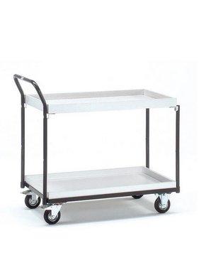 ESD-Tischwagen mit Kästen