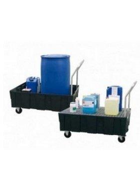 Fahrbare Auffangwanne für 1-2 Fässer à 200 l