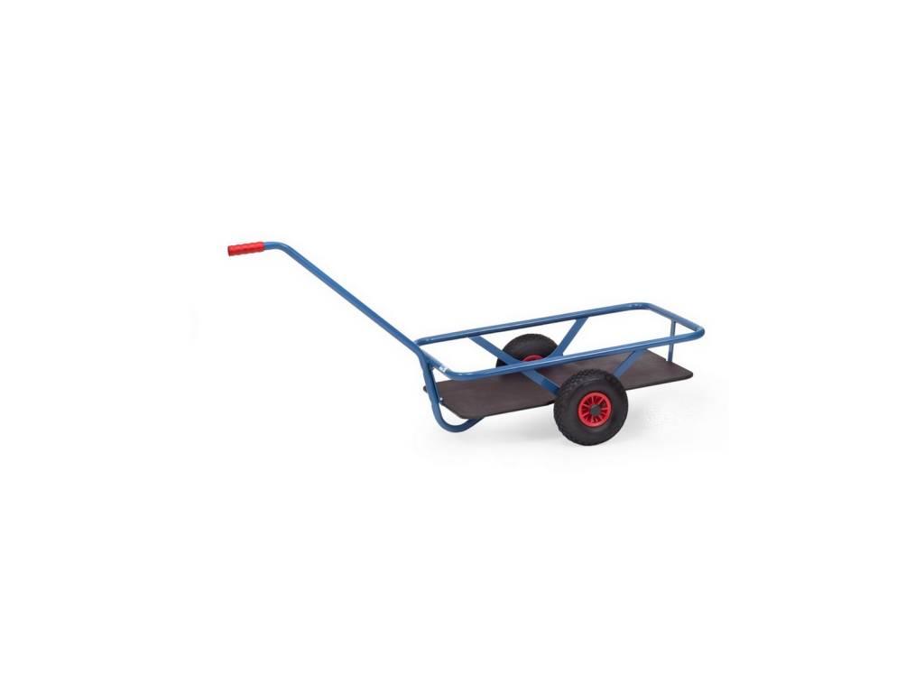 Handwagen mit Ladefläche aus wasserfestem Sperrholz