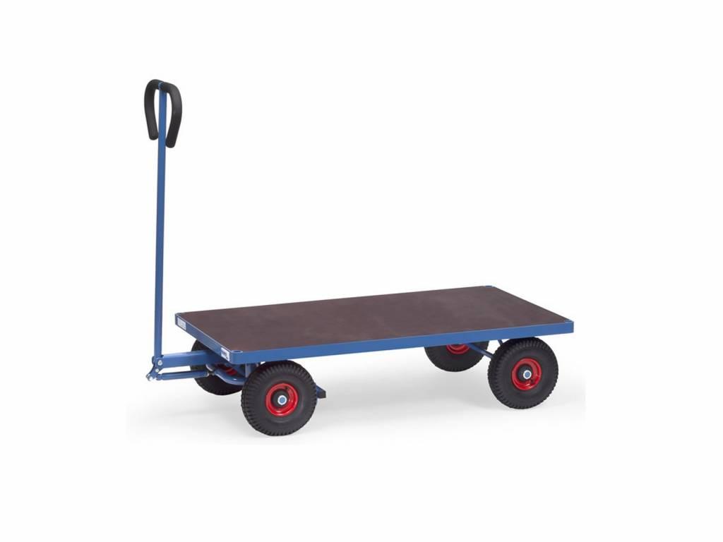 Handwagen mit 2 Achsen und 500 kg Tragkraft