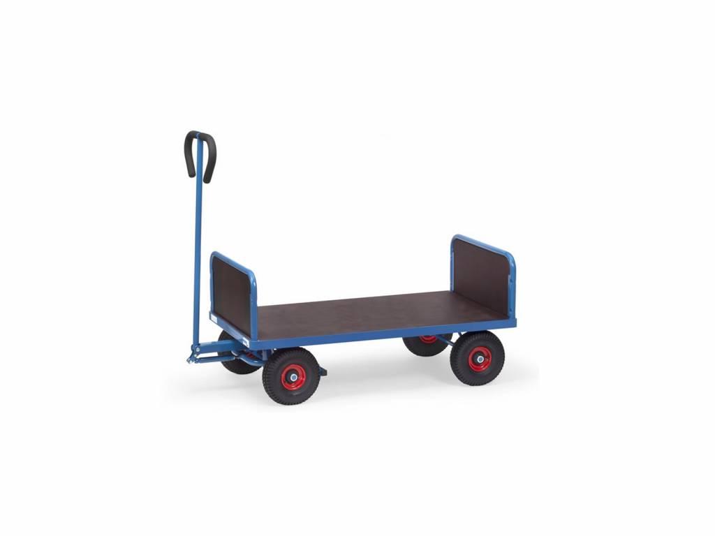Handwagen mit 2 Stirnwänden und 500 kg Tragkraft