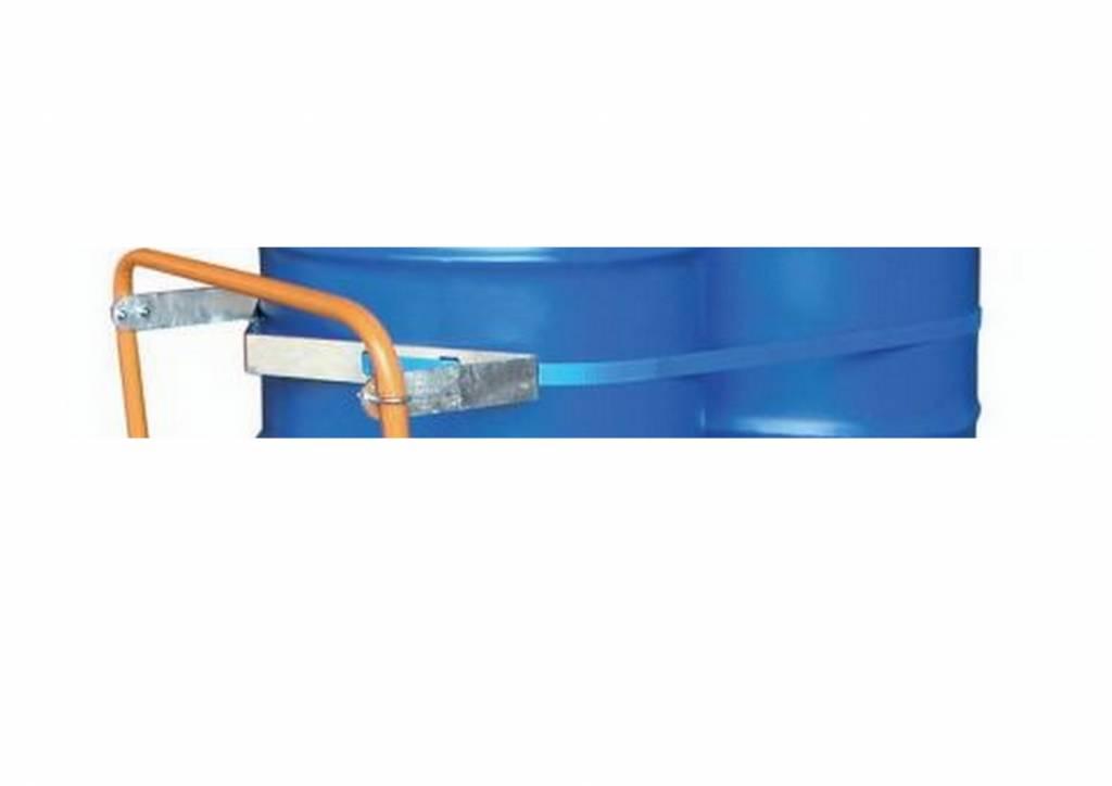 Fahrbare Auffangwanne für Fässer 200 Liter