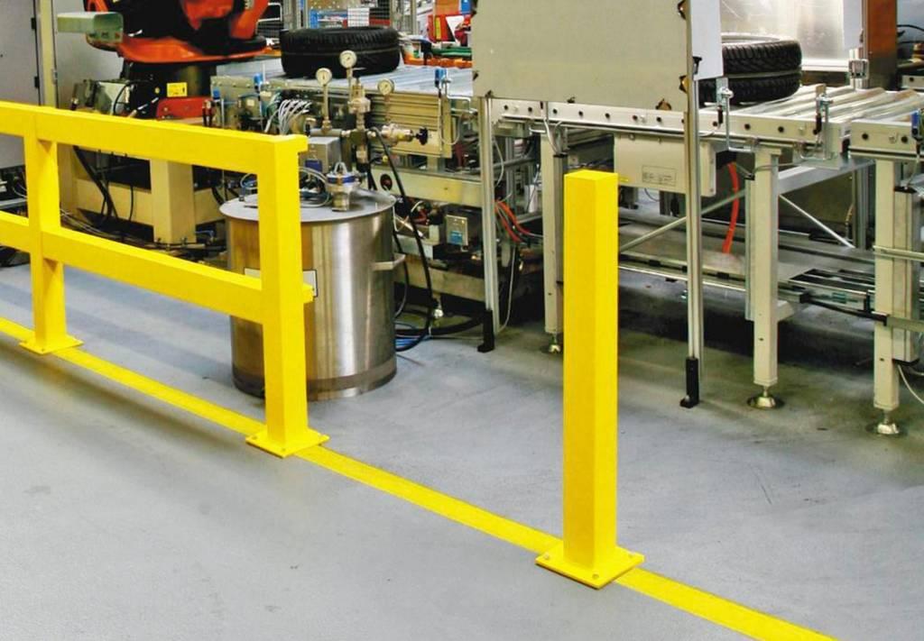 Rammschutz Geländer 1000-1500 mm