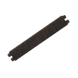 Cuenta DQ leerband vacht bruin zwart dubbel patroontje 30mm