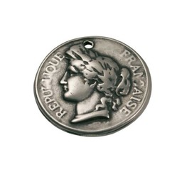 Cuenta DQ French coin 27mm