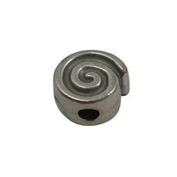 Cuenta DQ Metaal slakje zilverkleur