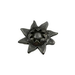 Cuenta DQ Ornament zon 33mm zilverkleur