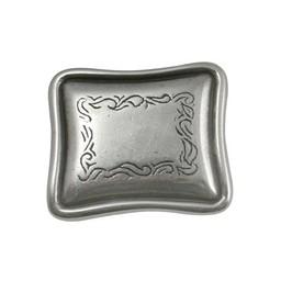 Cuenta DQ Rivet western langwerpig zilverkleur