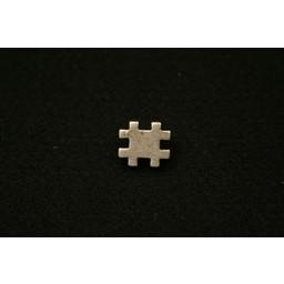 Cuenta DQ rivet # (Hashtag) 16mm