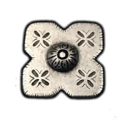 Cuenta DQ Rivet vierkant bloem 34mm N