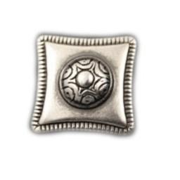 Cuenta DQ Rivet vierkant 23mm zilverkleur