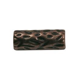 Cuenta DQ Metal bead copper plating.