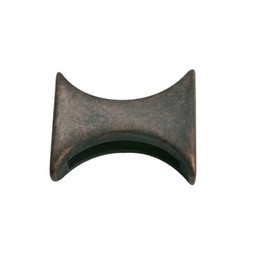 Cuenta DQ Metall Perle rund Verkupferung.