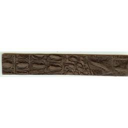 Cuenta DQ leerband bruin crocodile print 18cmx29mm