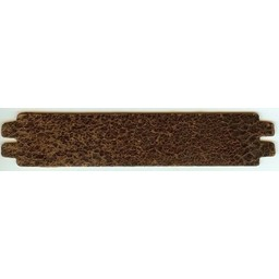 Cuenta DQ wristband leather brown spotty 13.5cmx29mm