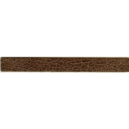 Cuenta DQ leerband bruin crackle 19mmx18cm