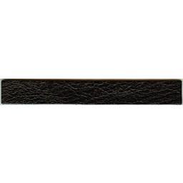 Cuenta DQ leerband zwart crackle 14.5cmx19mm