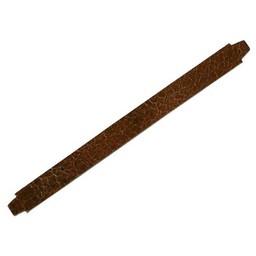 Cuenta DQ bracelet strap leather crackle brown 13mm M
