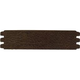 Cuenta DQ leerband crack donker bruin 44mmx18.5cm M