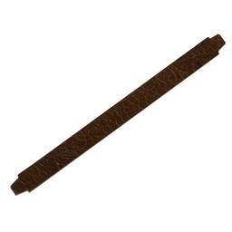 Cuenta DQ bracelet strap leather crackle medium.brown 13mm M