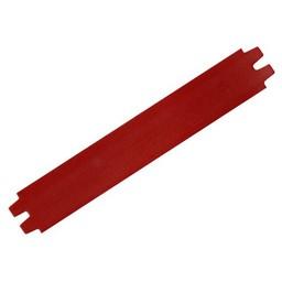 Cuenta DQ leather strap 29mm dark red