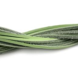 Cuenta DQ Leerveter vierkant 2mmx85cm linde groen