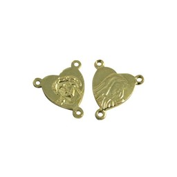 Cuenta DQ Anhanger & Charms Rosenkr?nze rozenkrans 12mm Goldfarbe