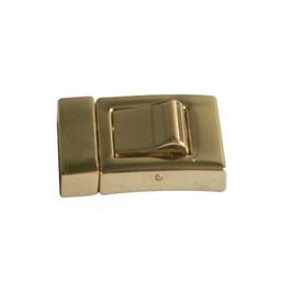 Cuenta DQ Sluiting 2-delig klik 19mm goudkleur
