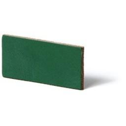 Cuenta DQ Plat leer 12mm  Groen  12mmx85cm o.a. geschikt voor 12mm leerschuivers