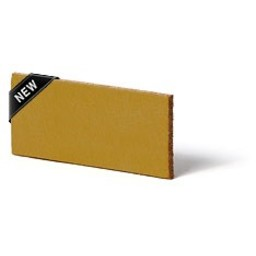 Cuenta DQ Plat leer 12mm  Oker geel 12mmx85cm o.a. geschikt voor 12mm leerschuivers