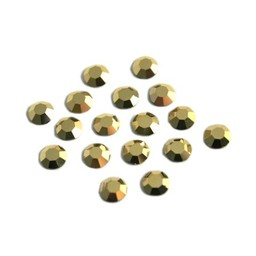 Preciosa crystals MC Flatback strass steen ss20 (4.60-4.80mm) crystal aurum