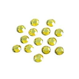 Preciosa crystals MC chaton Rhinestones ss20 (4.60-4.80mm) citrine stone