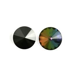 Preciosa crystals Punt rivoli 14mm Vitrail
