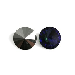 Preciosa crystals Punt rivoli 16mm heliotrope