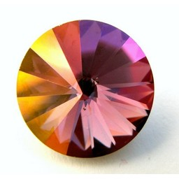 Preciosa crystals rivoli 18mm Volcano
