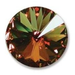 Preciosa crystals MC rivoli 16mm kristal Sahara