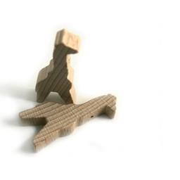 Cuenta DQ Wood figure giraffe blank