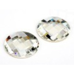 Swarovski elements chess crystal rond 14mm