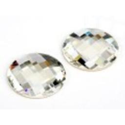 Swarovski elements chess crystal round 14mm