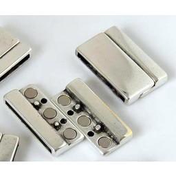 jolie Sluiting magneet 29mm zilverkleur