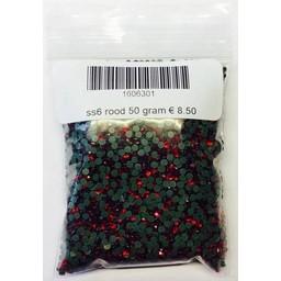 Niiniix SS6 Hotfix Rhinestones red light siam 50 grams