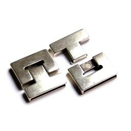 Cuenta DQ Schließe Magnet 38x5mm Silber