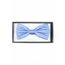 strik zijde uni lichtblauw