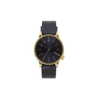KOMONO horloge Winston regal blue
