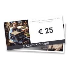 cadeaucheque €25