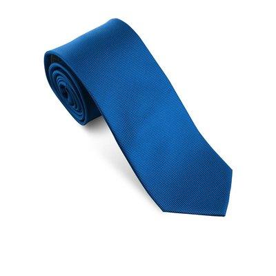 Effen blauwe das
